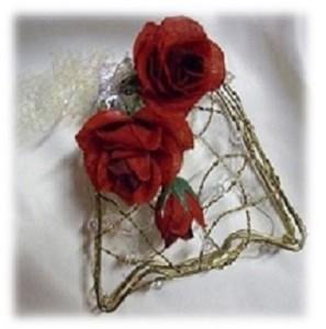 wedding rose bell